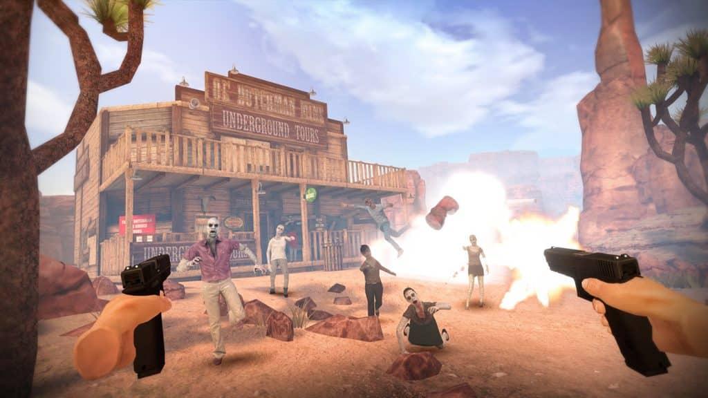 arizona sunshine oculus quest review