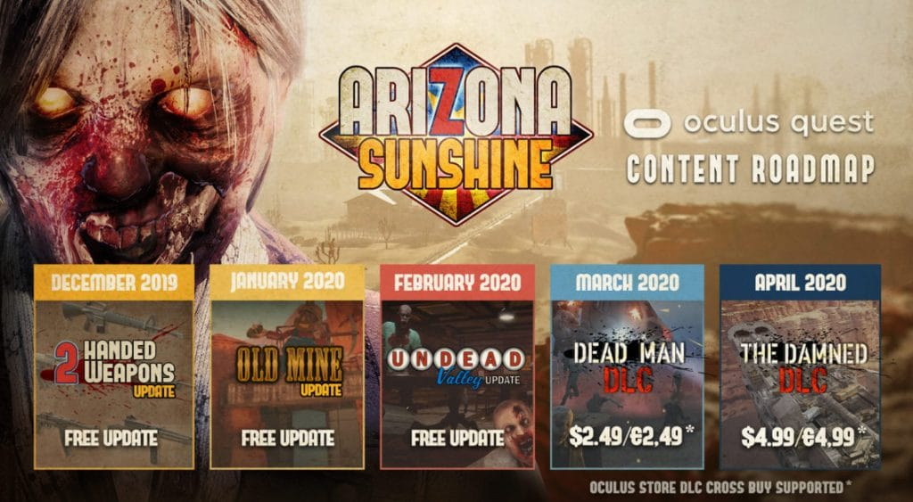 Undead Valley DLC for Arizona Sunshine