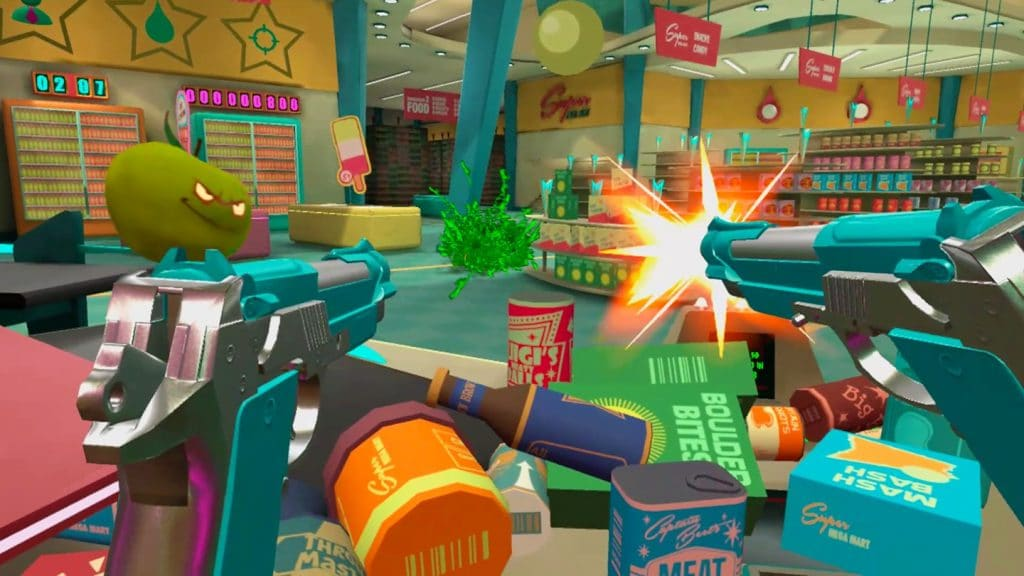shooty fruity oculus quest game review