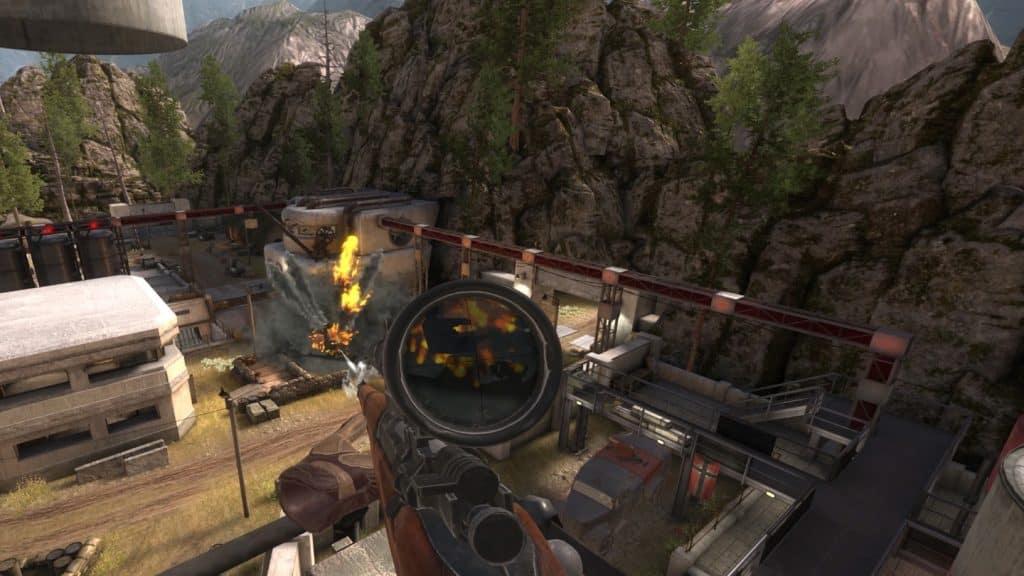 sniper elite vr quest review