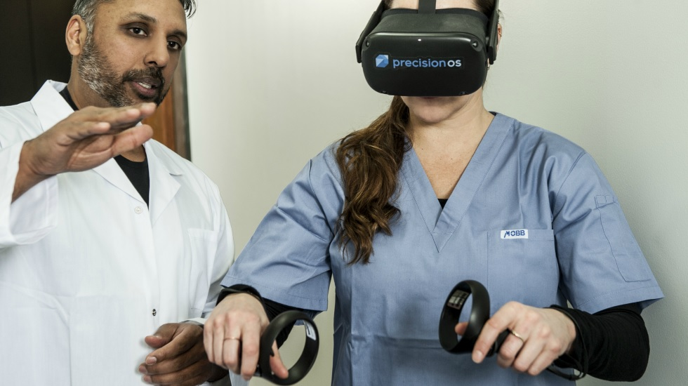 PrecisionOS & Virtual Reality Training of Orthopaedic Surgeons in Low-Resource Countries. 60
